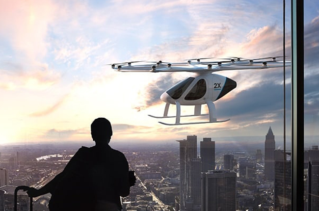Volocopter 2X flying taxi