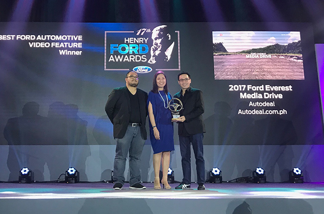 17th HFA: Autodeal takes home trophy for Ford Automotive Video