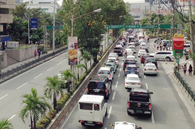 Carpool Lane along Julia Vargas Avenue
