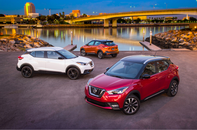 Nissan Juke X-Trail Kicks