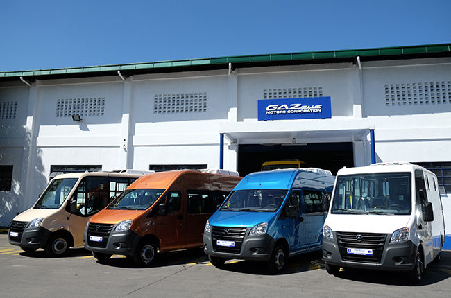 Gazelle Motors Corporation fleet of Gazelle Next