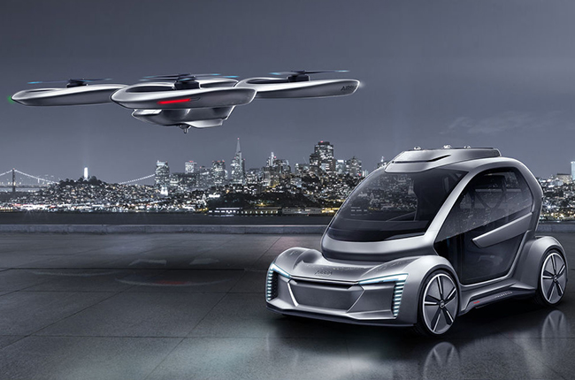 Audi Pop.Up Next flying car