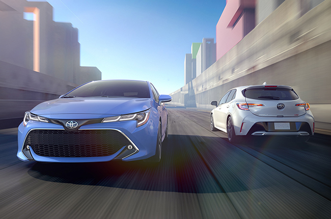 Here's a quick look at the 2019 Toyota Corolla Hatchback
