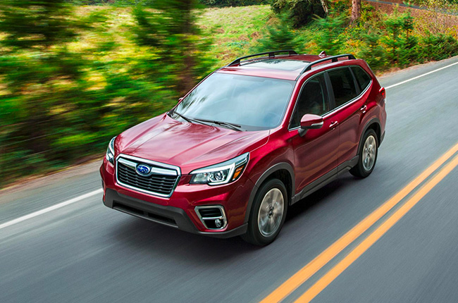 Covers Are Off Of Next Generation 2019 Subaru Forester Autodeal