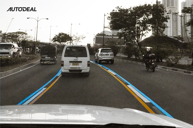What do all those lines mean? When can I overtake?