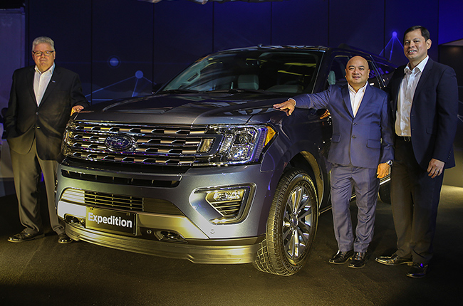 MIAS 2018 Ford Expedition