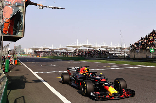 Aston Martin Red Bull Racing Daniel Ricciardo Chinese Grand Prix