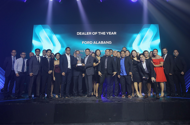 Ford Philippines Dealership of the Year Alabang