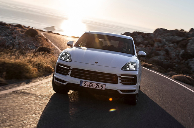 The third generation of Porsche's flagship SUV
