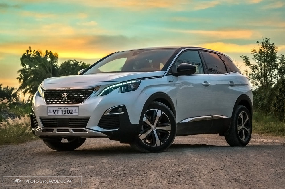 review 2018 peugeot 3008 gt line diesel at autodeal philippines. Black Bedroom Furniture Sets. Home Design Ideas