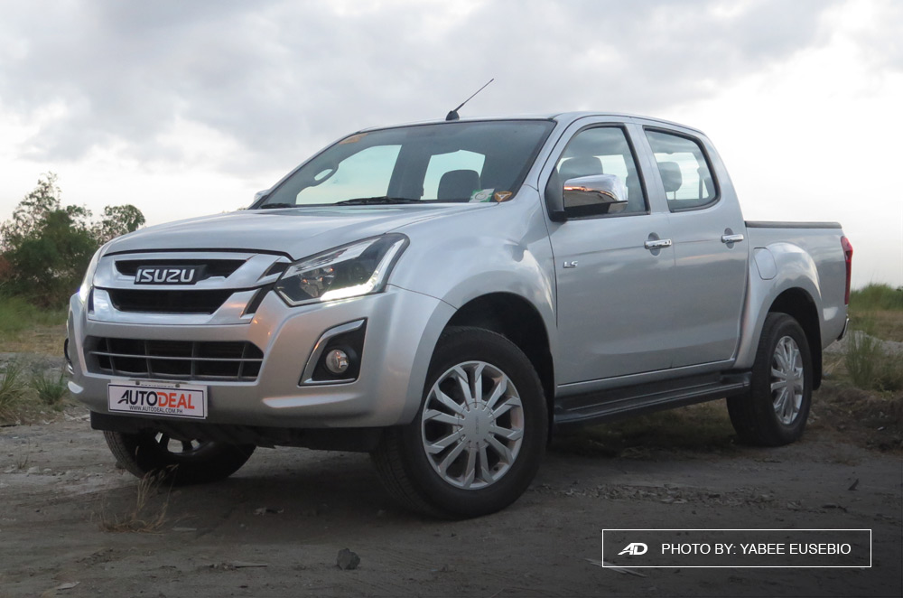 2018 Isuzu D-Max 3.0 LS AT 4x2 with Blue Power