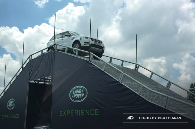 jaguar land rover test drives