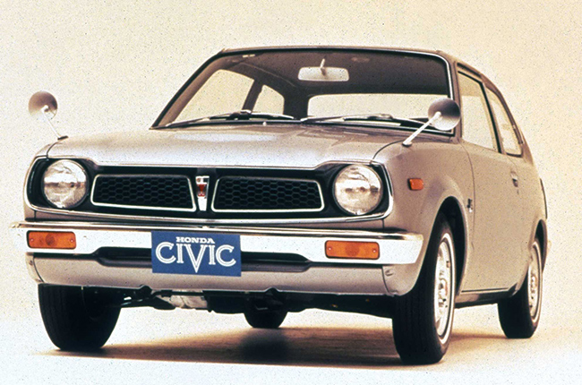 Honda civic first gen