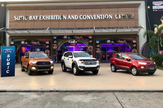 Ford Everest, Ranger, and EcoSport