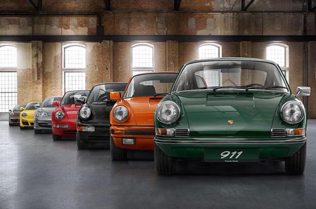 Porsche 70 years celebration