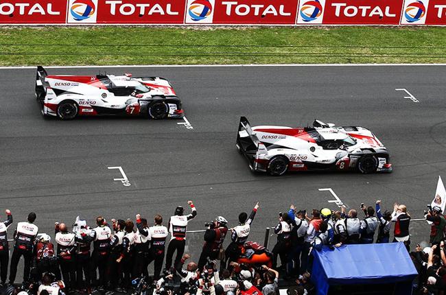 Toyota Gazoo Racing Le Mans 24 hours