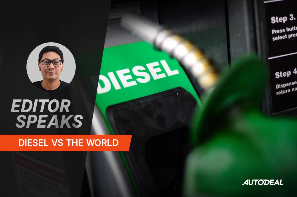 diesel vs the world editor speaks