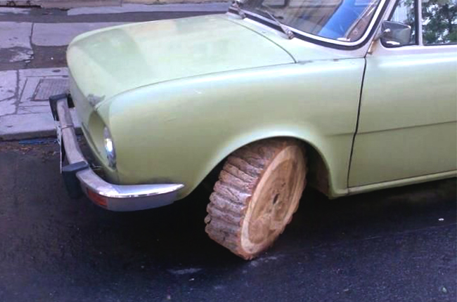 Michelin plans wooden tires