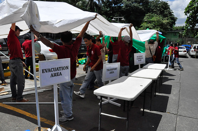 Philippine Heart Center Shake Drill