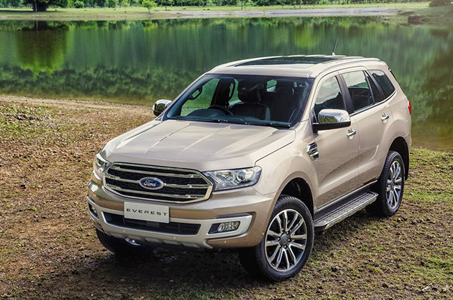 2018 Ford Everest in Thailand
