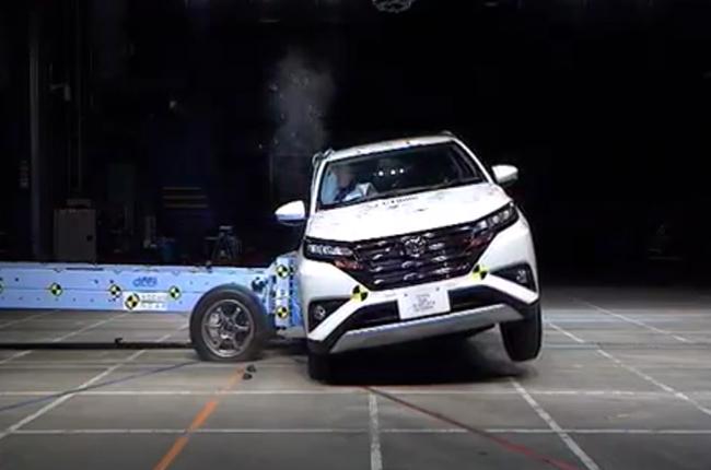 Toyota Rush NCAP Test
