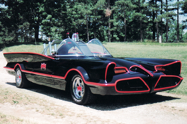 To the Batmobile!