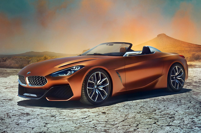 Bmw Concept Z4 Looks Way Cooler Than 2019 Toyota Supra Autodeal