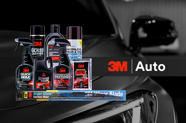 3m car care auto products wash wax clean