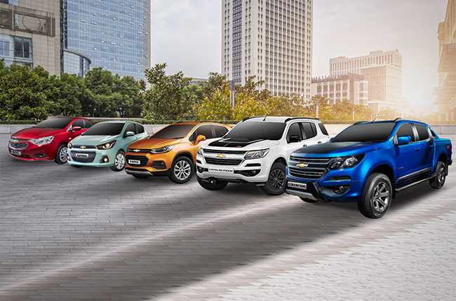 Chevrolet Philippines' Rev  Up and Roar promos