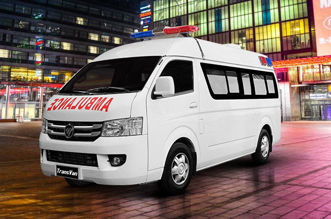 Foton TransVan HR Ambulance Philippine Red Cross