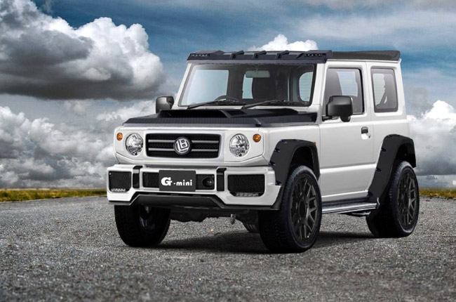 Forget the G-Class: We want this customized Suzuki Jimny | Autodeal