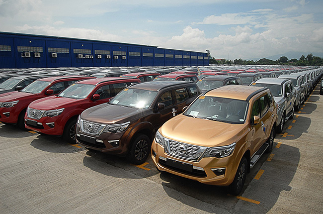 First batch of Nissan Terra in the Philippines