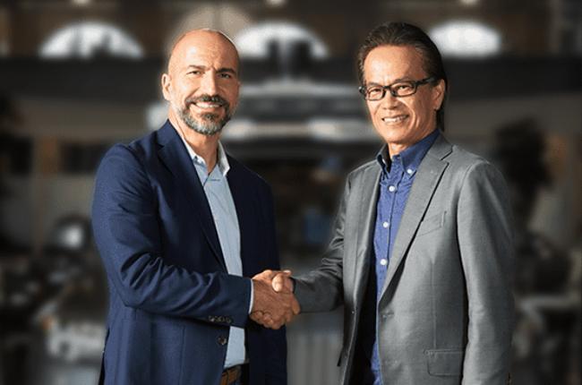 Toyota Uber partnership