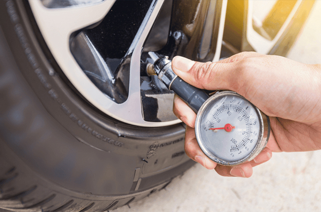 Tire pressure loss causes