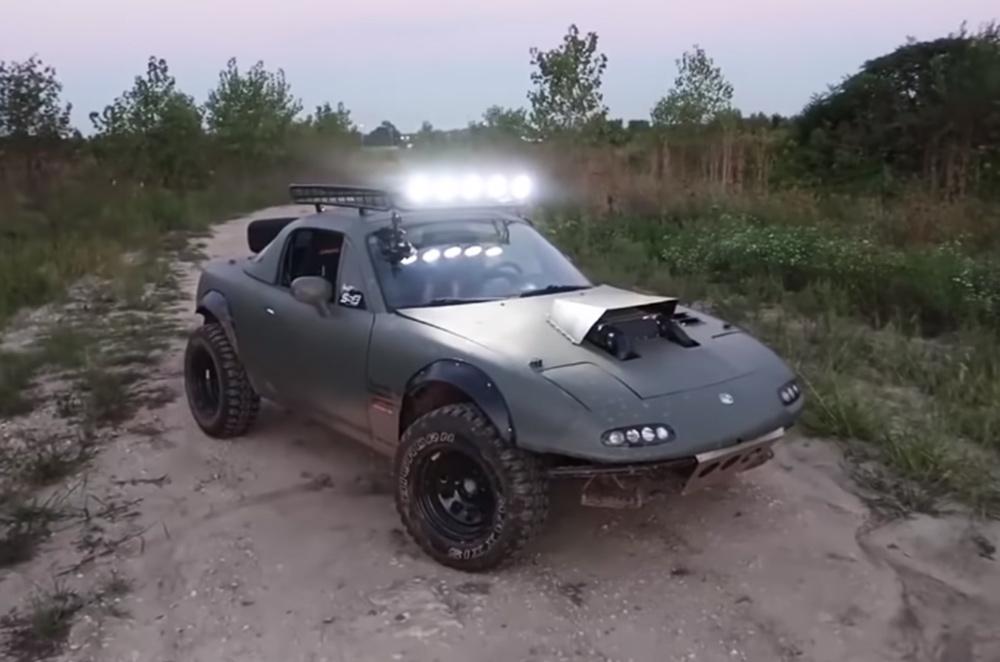 Supercharged Mazda MX-5 Miata off-roader