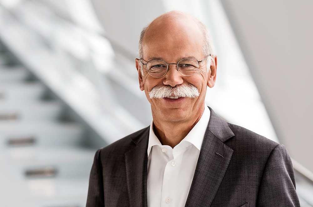 Dieter Zetsche will be ending his 12-year run by next year.