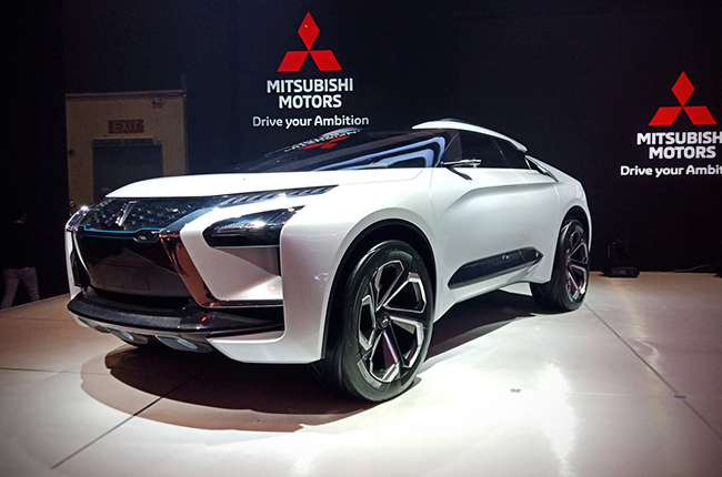 mitsubishi e-evolution concept car pims 2018