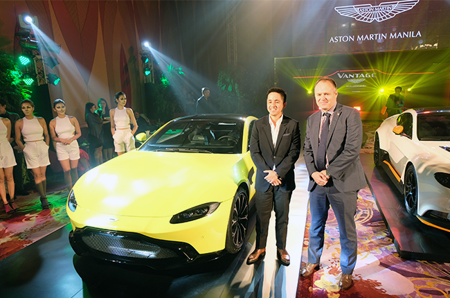 The all-new Vantage finally makes it to Manila, Philippines, and is an absolutely stunning machine.