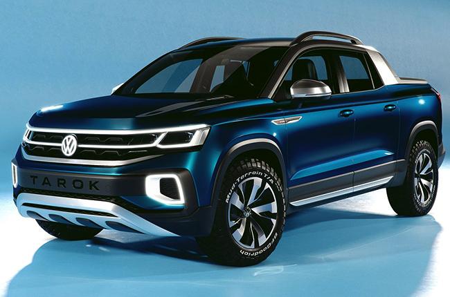 Volkswagen Tarok Concept pickup truck