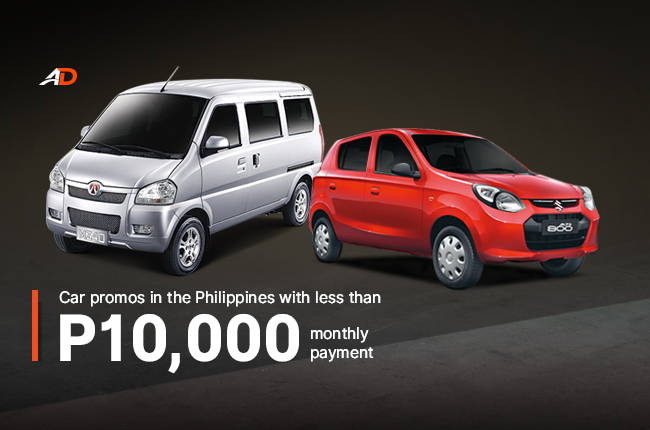 Car Promos In The Philippines With Less Than P10 000 Monthly Payment