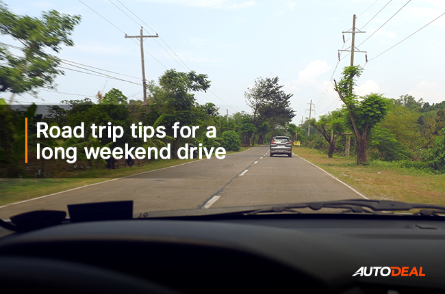 5 tips to prepare for long weekend road trip