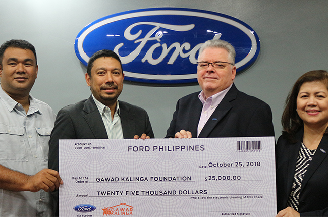 Ford PH donations