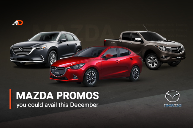 Mazda Promos in the Philippines for December
