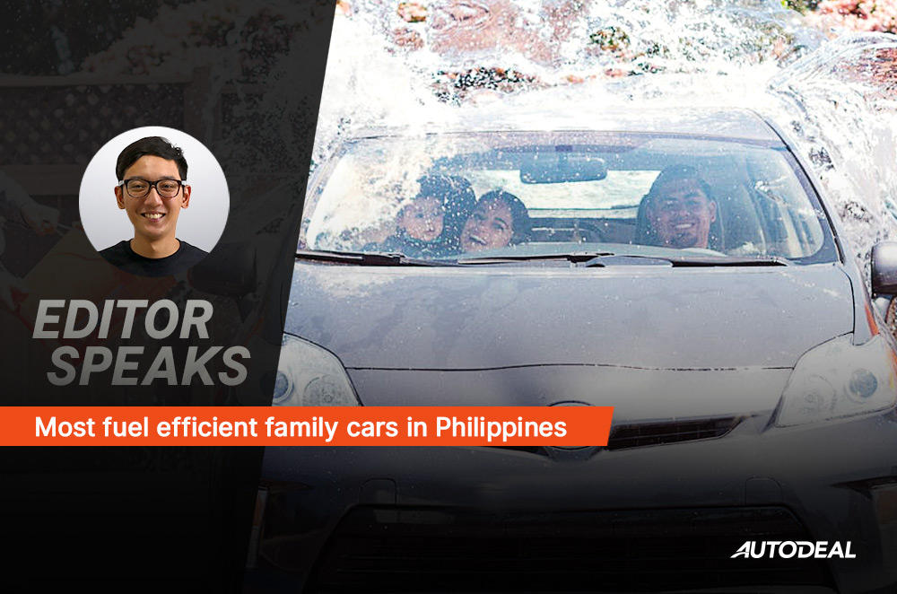 Most fuel efficient family cars in the Philippines