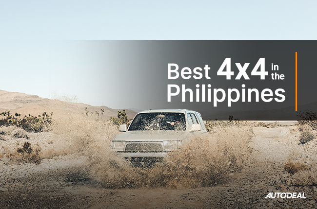 Best 4x4s in the Philippines