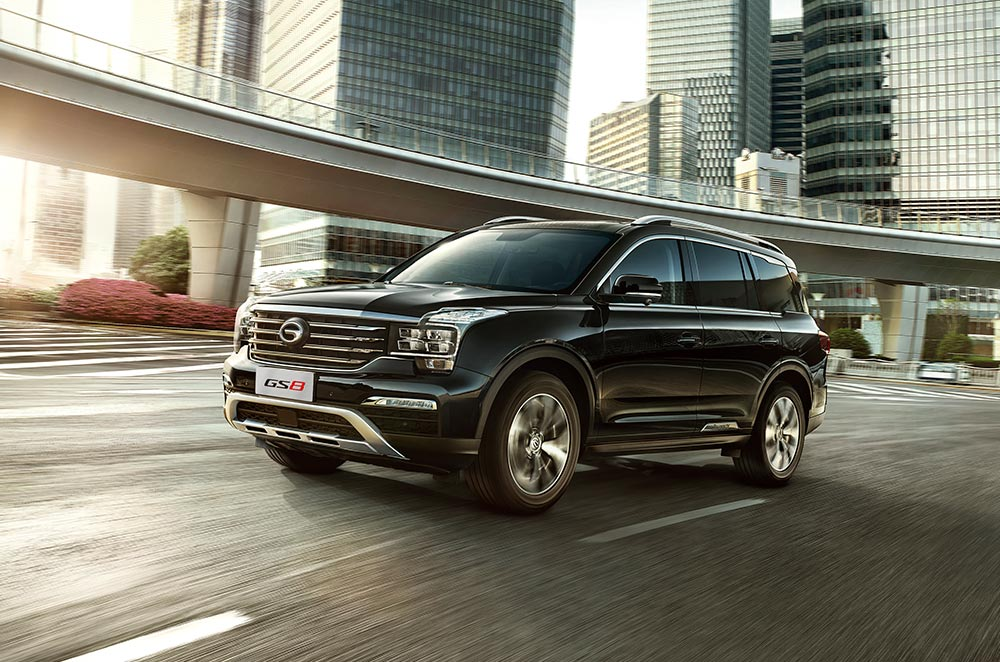 gac motor philippines gs8 large 7-seater luxury suv