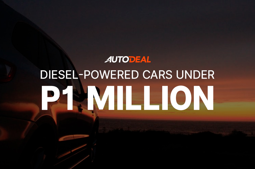 diesel-powered cars under 1 million pesos