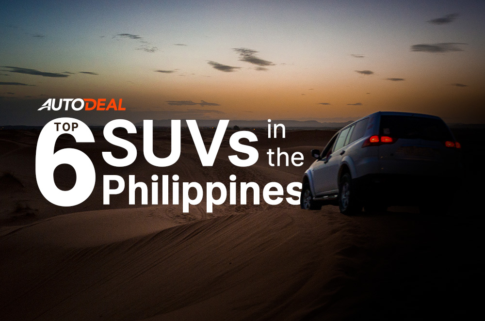 Top six SUVs in the Philippines