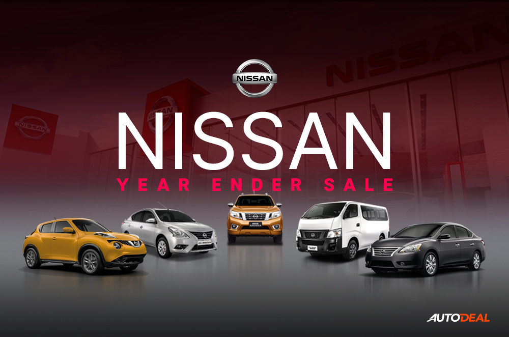 Nissan Year End Sale Promos