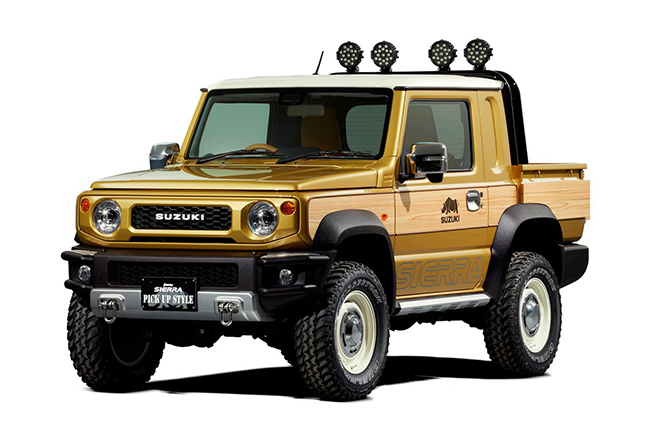 2019 Suzuki Jimny Pick Up Concept